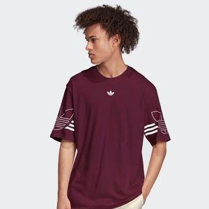 Adidas Originals Men's Trefoil Logo Tee Shirt 1238